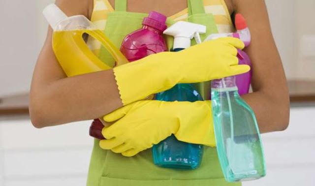 Ελληνίδα αναλαμβάνει καθάρισμα σε γραφεία και σπίτια