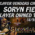 Soryn Fields, 15 Player Vendors Checked (6/9/2017) 💰 Shroud Of The Avatar Market Watch