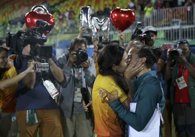 Las brasileñas Marjorie Enya e Isadora Cerullo matrimonio gay