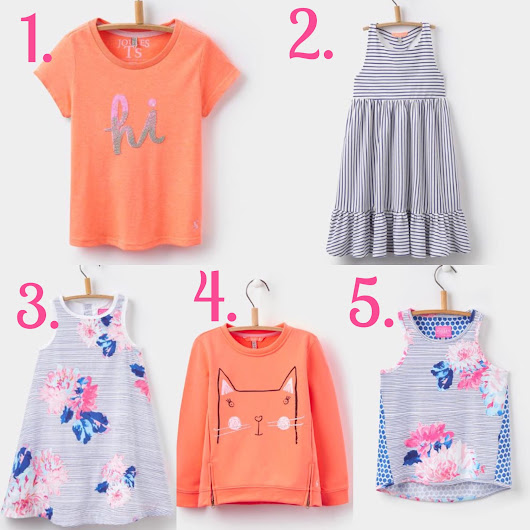 Joules Girls - Spring Style