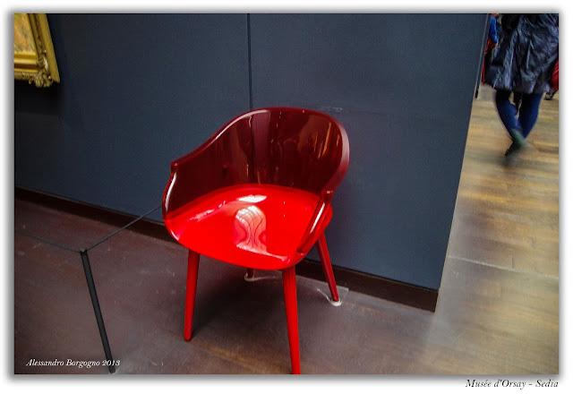 Sedia design - Musèe d'Orsay