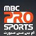 MBC Pro Sports Channels - Badrsat Frequency