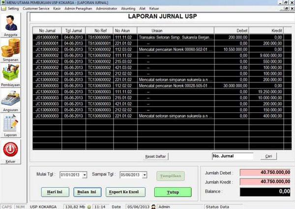 Software Koperasi Karyawan Garuda-Jurnal
