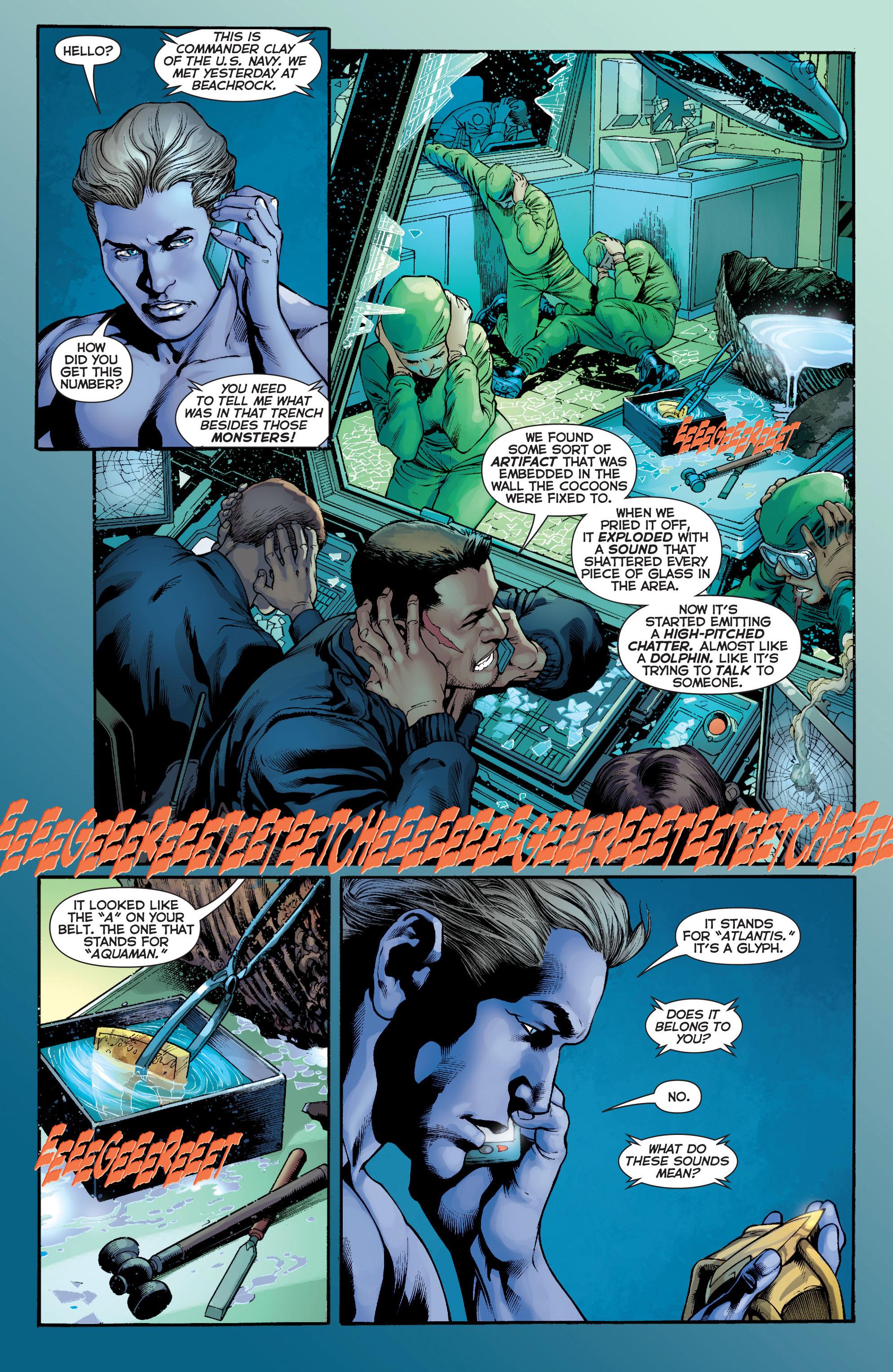Read online Aquaman (2011) comic -  Issue #5 - 7