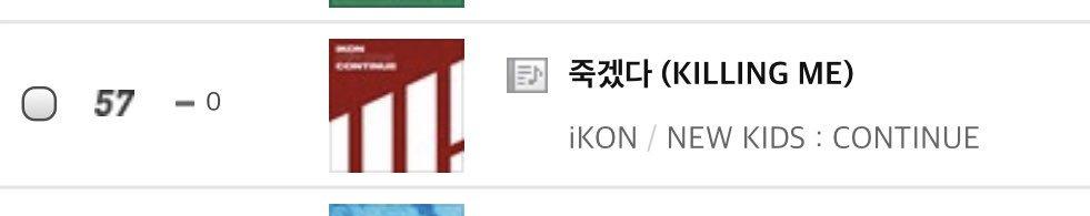 iKON's Love Scenario Dominating Yearly Chart - iKON Updates
