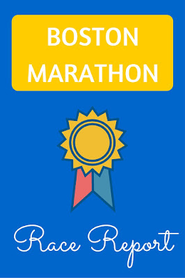 2014 Boston Marathon Race Report