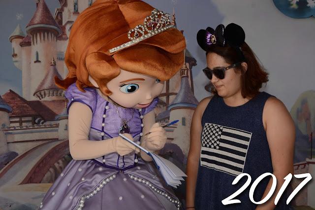 Princesinha Sofia no Hollywood Studios