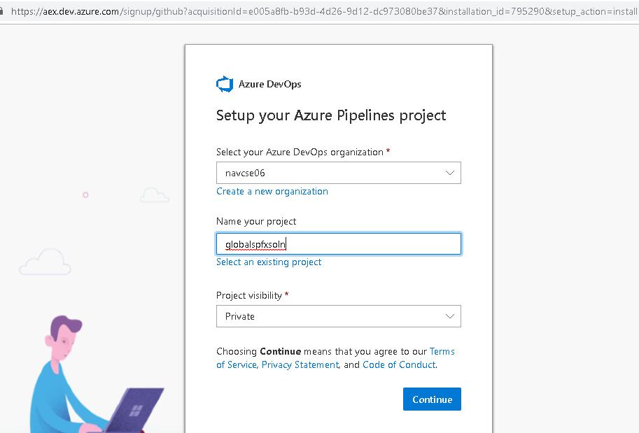 Technology Space with Nakkeeran: Using Azure Devops & Github to