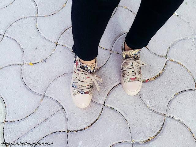 yüksek topuk sneakers