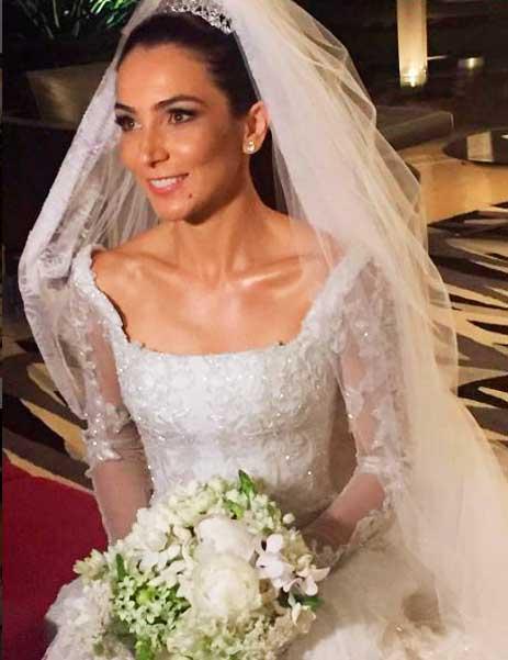 Lala Noleto noiva