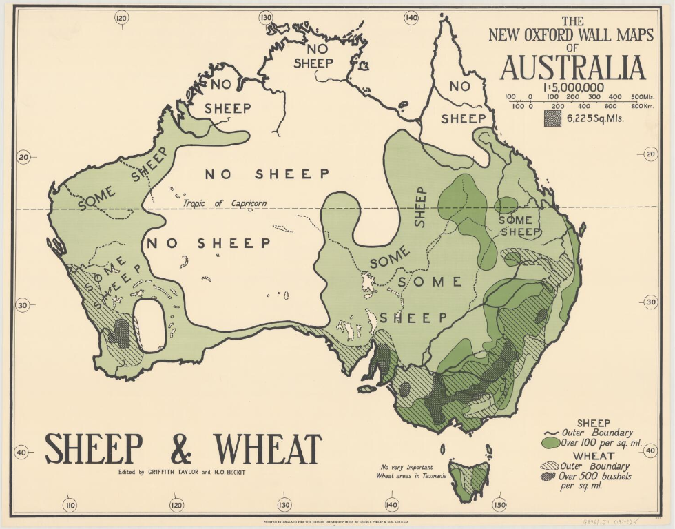 Australia by Sheep & Wheat