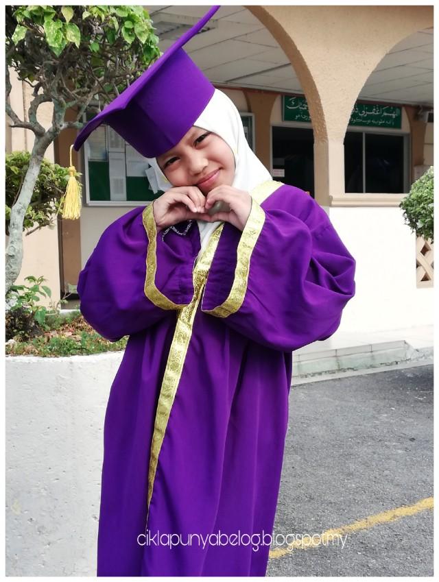 Hari kecemerlangan PASTI 2018 : Tahniah kakak Farisya dah grad!