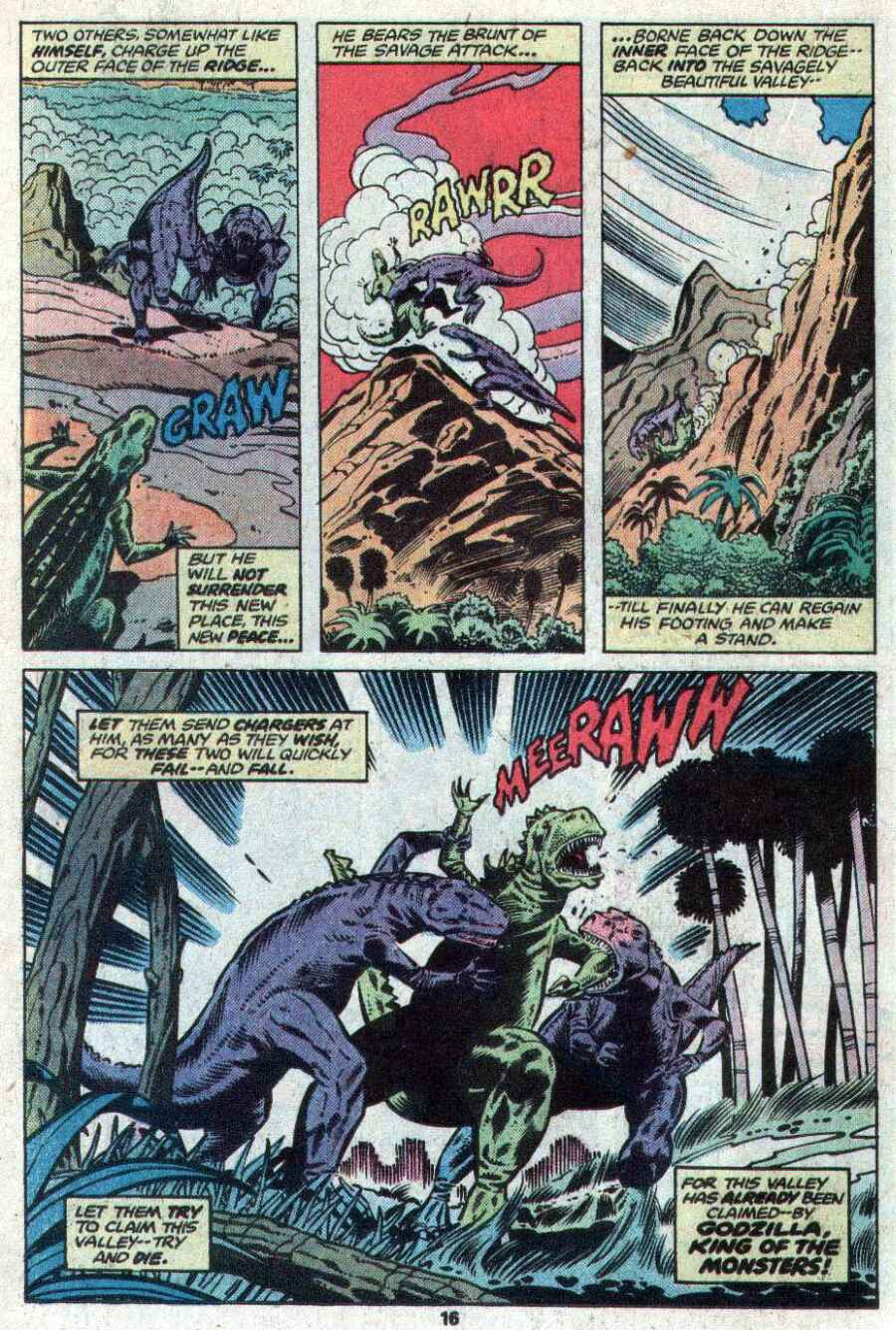 Godzilla (1977) Issue #21 #21 - English 11