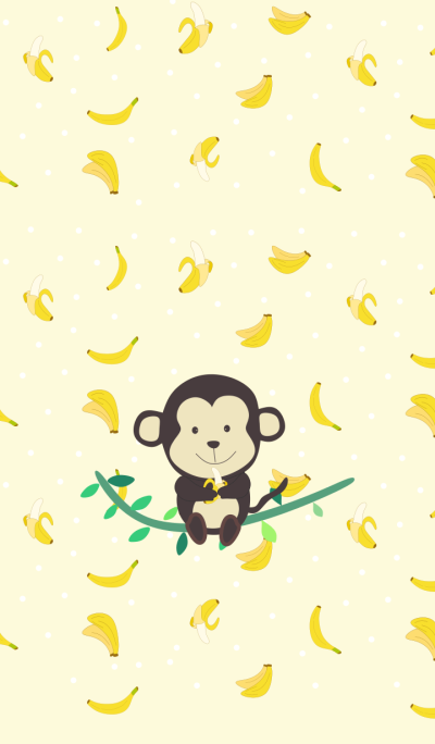 Monkey and The Favorite Bananas