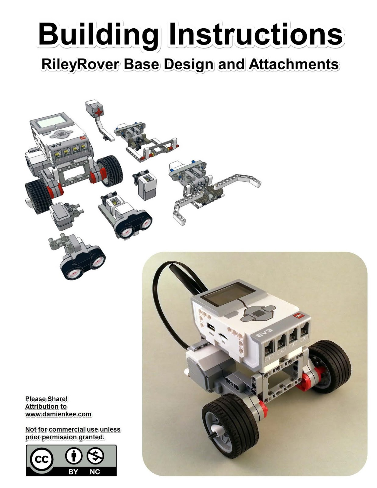RoBoTiCS education centre: RileyRover - EV3 Classroom ...