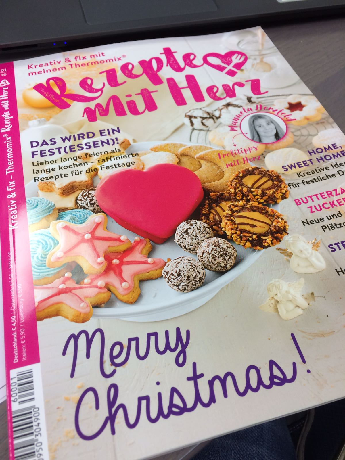 Zeitschrift Rezepte unser cover rezepte mit herz magazin