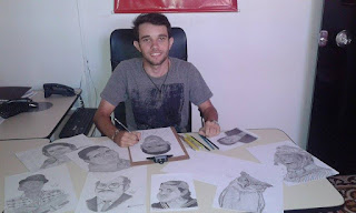 Jovem Cuiteense se destaca pelo seus trabalhos realistas