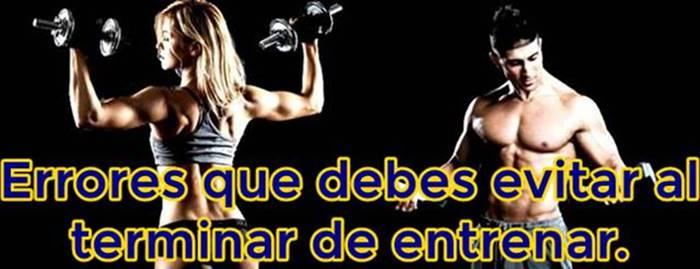 Errores que retrasan tus objetivos cuando haces ejercicio