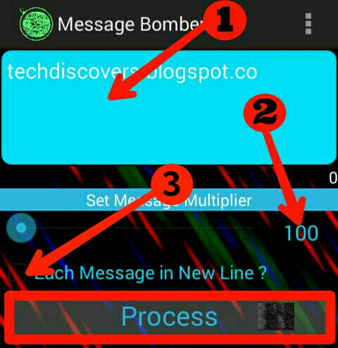 How to send 1000 messages on whatsapp in single clicl