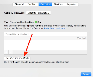 Apple ID Verification Code For Your Apple ID