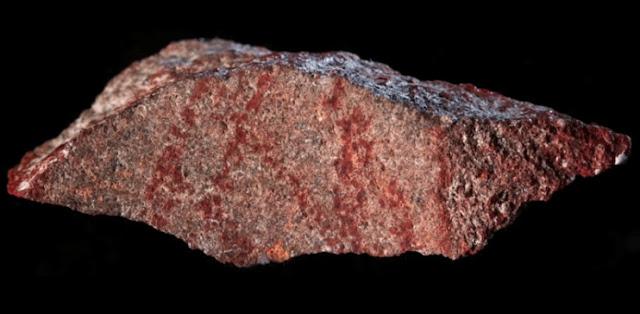 Desenho de 73 mil anos, o mais antigo da história, é encontrado na África do Sul