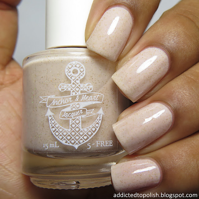 anchor and heart lacquer sweet love