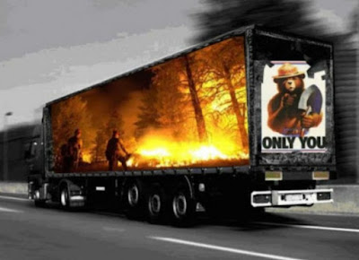 Awesome Truck Side Advertisments