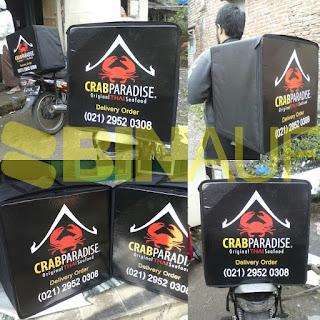 tas delivery makanan jakarta Crab paradise