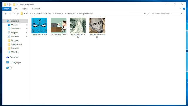 Windows 10 Eski Kullanıcı Hesap Resimleri Nasıl Silinir?