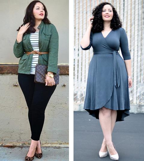 model baju untuk orang gemuk agar terlihat langsing