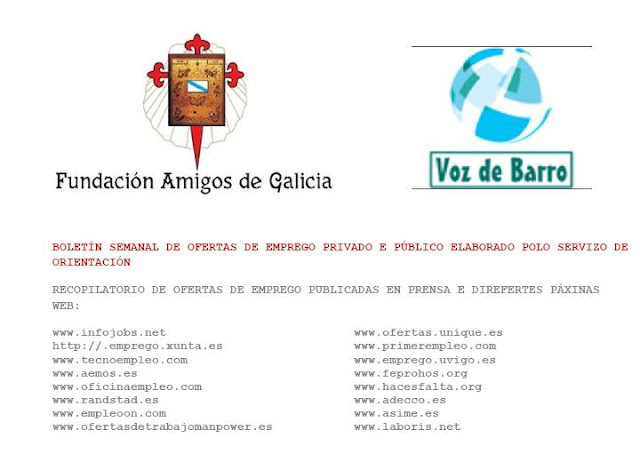 Cores de cambados voz de barro for Oficina de emprego galicia