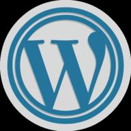wordpress button outline