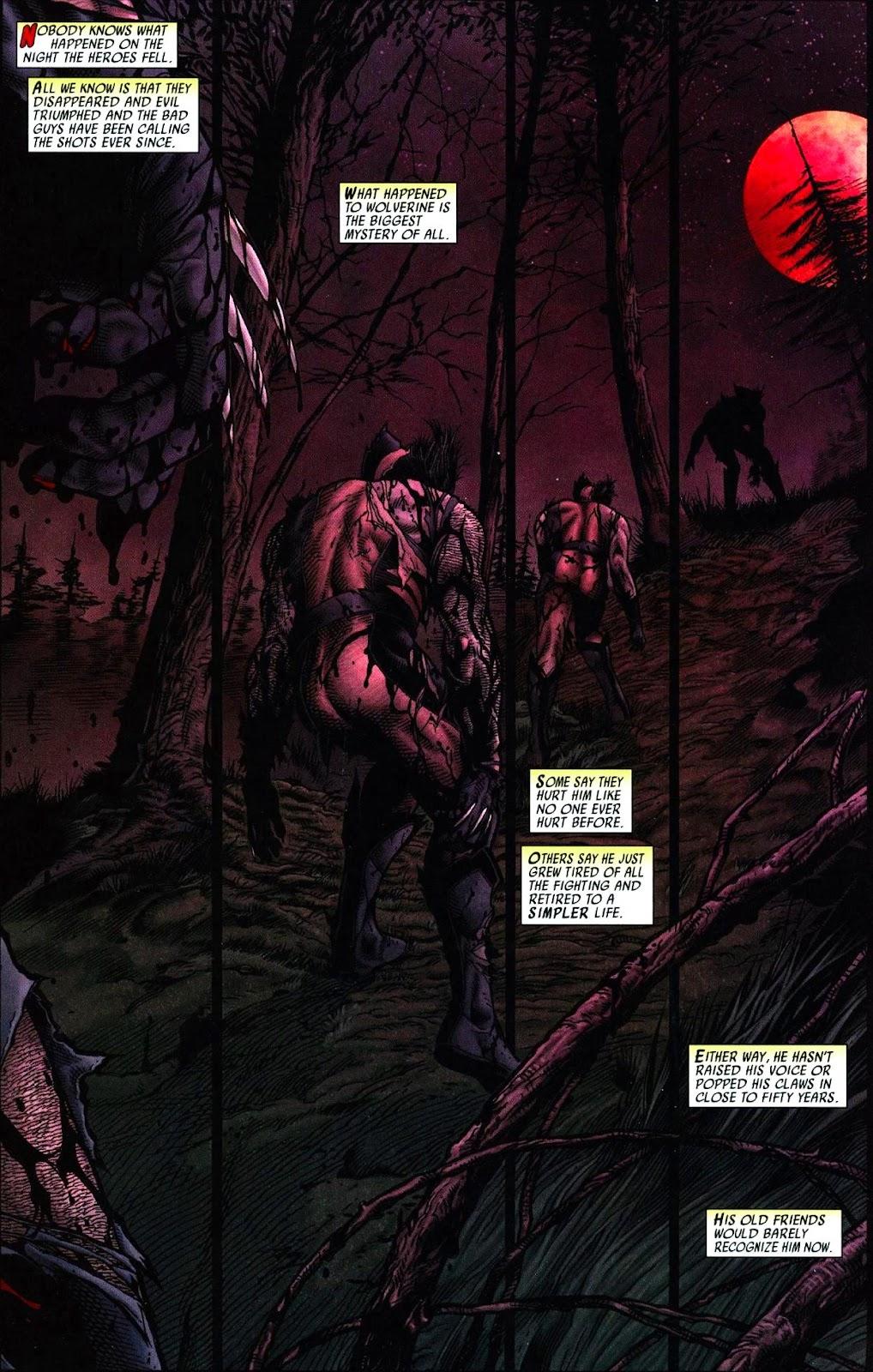 Read online Wolverine (2003) comic -  Issue #66 - 2
