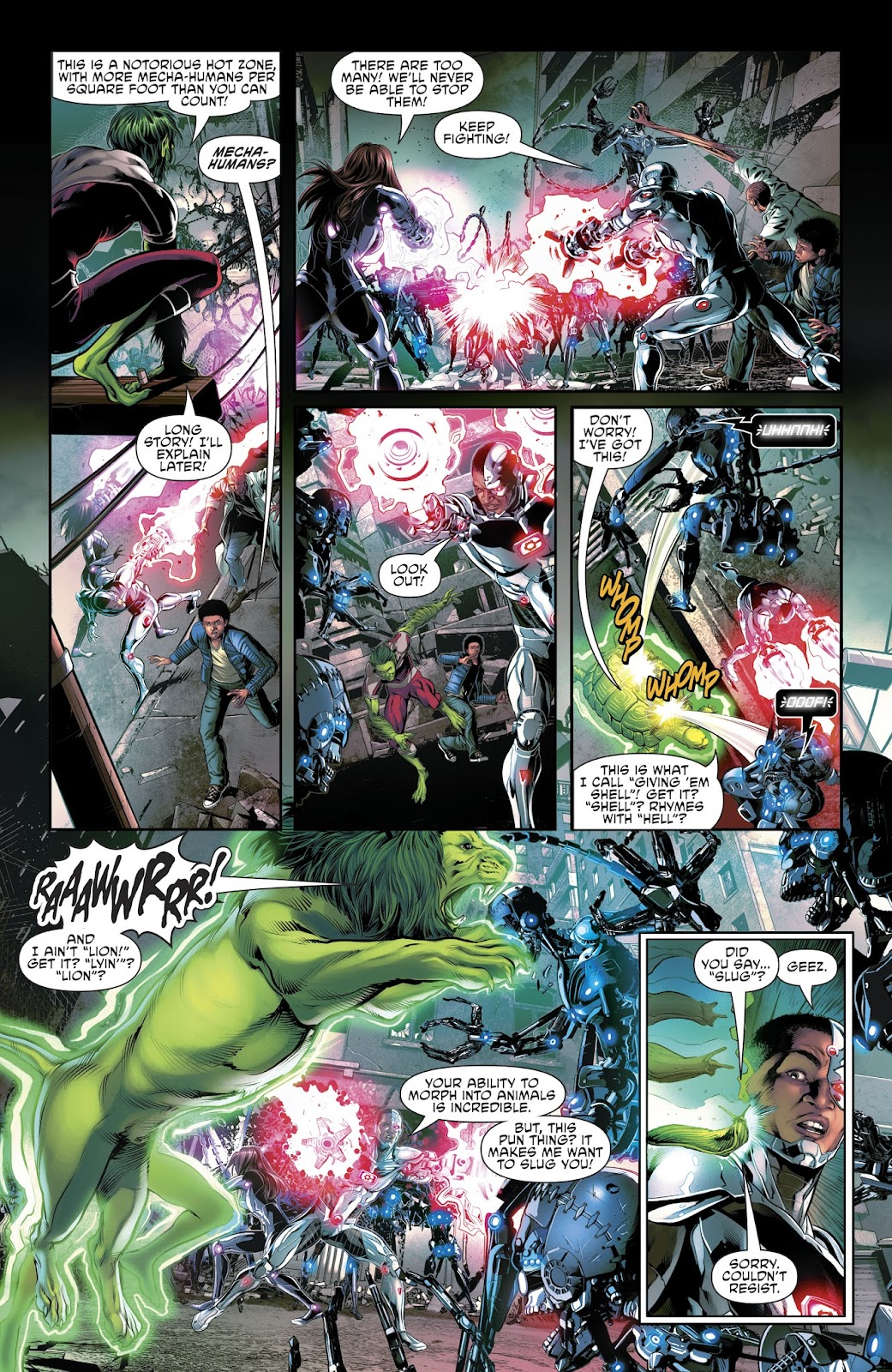 Read online Cyborg (2016) comic -  Issue #14 - 16