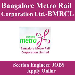 Bangalore Metro Rail Corporation Limited, BMRCL, BMRC, Metro Rail, Karnataka, freejobalert, Sarkari Naukri, Latest Jobs, Graduation, Section Engineer, bmrc logo