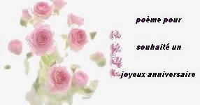 Poemes Et Texte Pour Un Anniversaire Poemes Et Textes D Amour