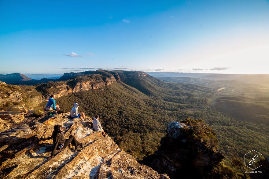 Blue Mountains, NSW - Man Travels 40,000km Around Australia and Brings Back These Stunning Photos