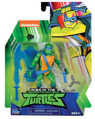 RISE OF THE TEENAGE MUTANT NINJA TURTLES Leo : Leonardo | Figura - Muñeco Tortugas Ninja  Producto Oficial Serie Nickelodeon | A partir de 4 años  COMPRAR ESTE JUGUETE