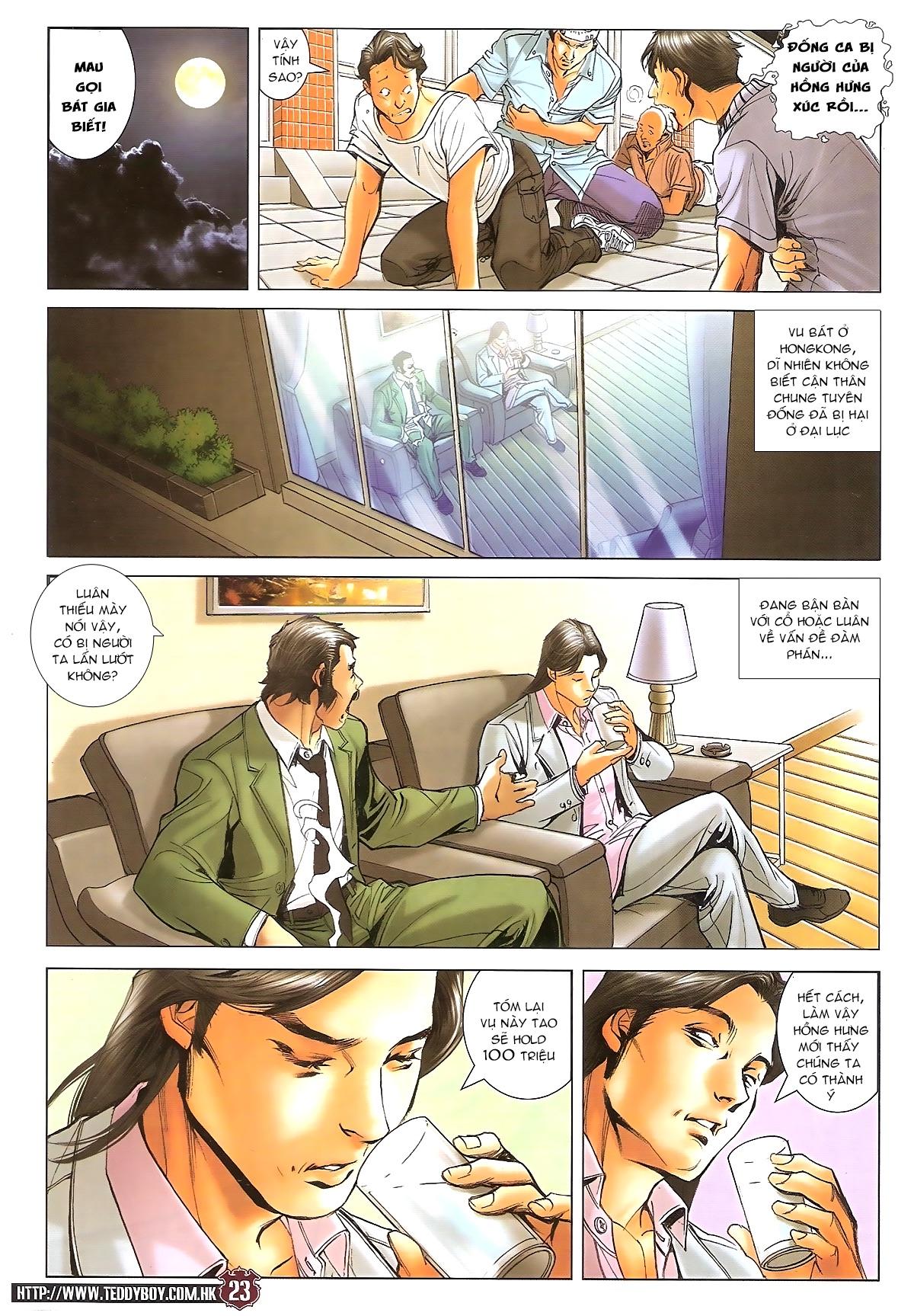 Người Trong Giang Hồ - Ngũ Hổ qui thiên - Chapter 1717: Đàm phán siêu cấp 3 - Pic 22