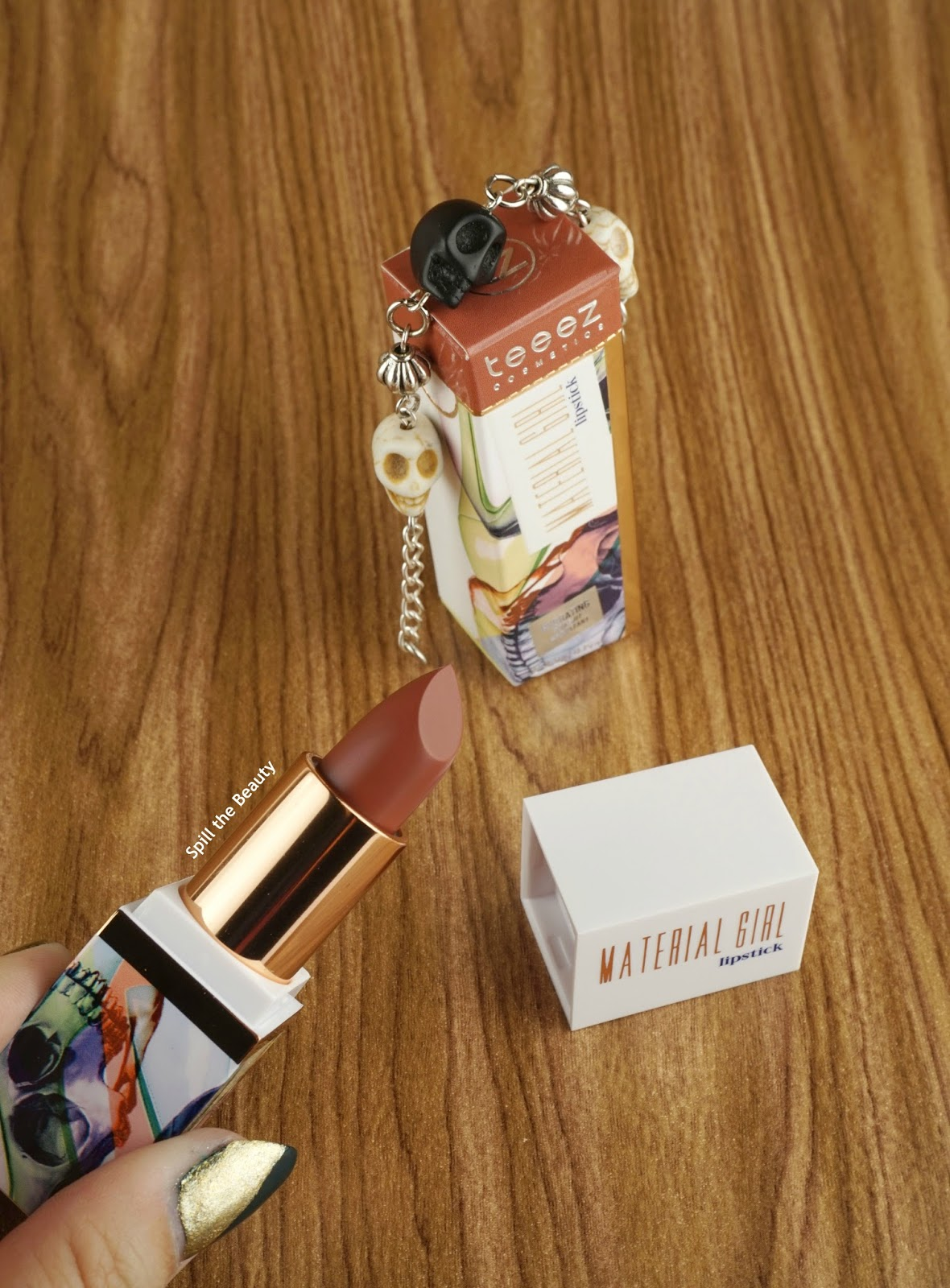 teeez cosmetics stunning haze hyped taupe bronzed glaze