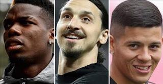 Pogba, Ibrahimovic, Rojo Fit dan Siap Dimainkan di Laga Manchester United vs Newcastle