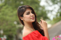 Rhea Chakraborty in Red Crop Top and Denim Shorts Spicy Pics ~  Exclusive 117.JPG