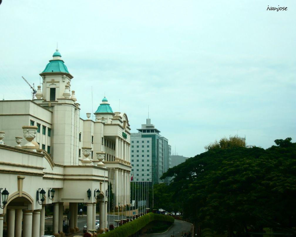 Facade of Waterfront Cebu City Hotel and Casino