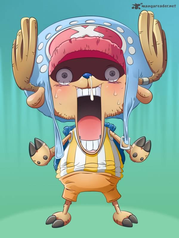 One Piece Ch 719: - Open, Chinjao!