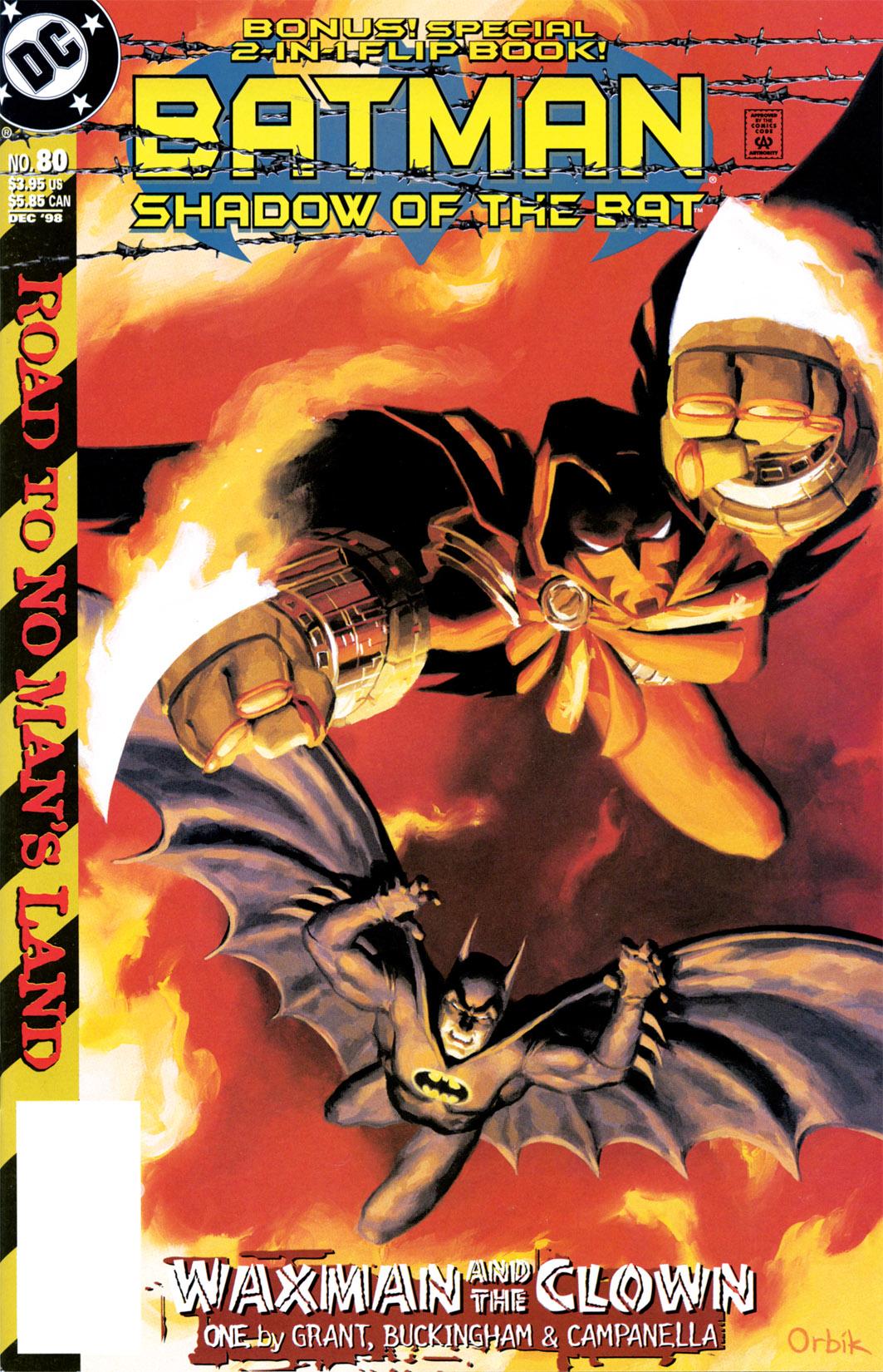 Batman: Shadow of the Bat 80 Page 1