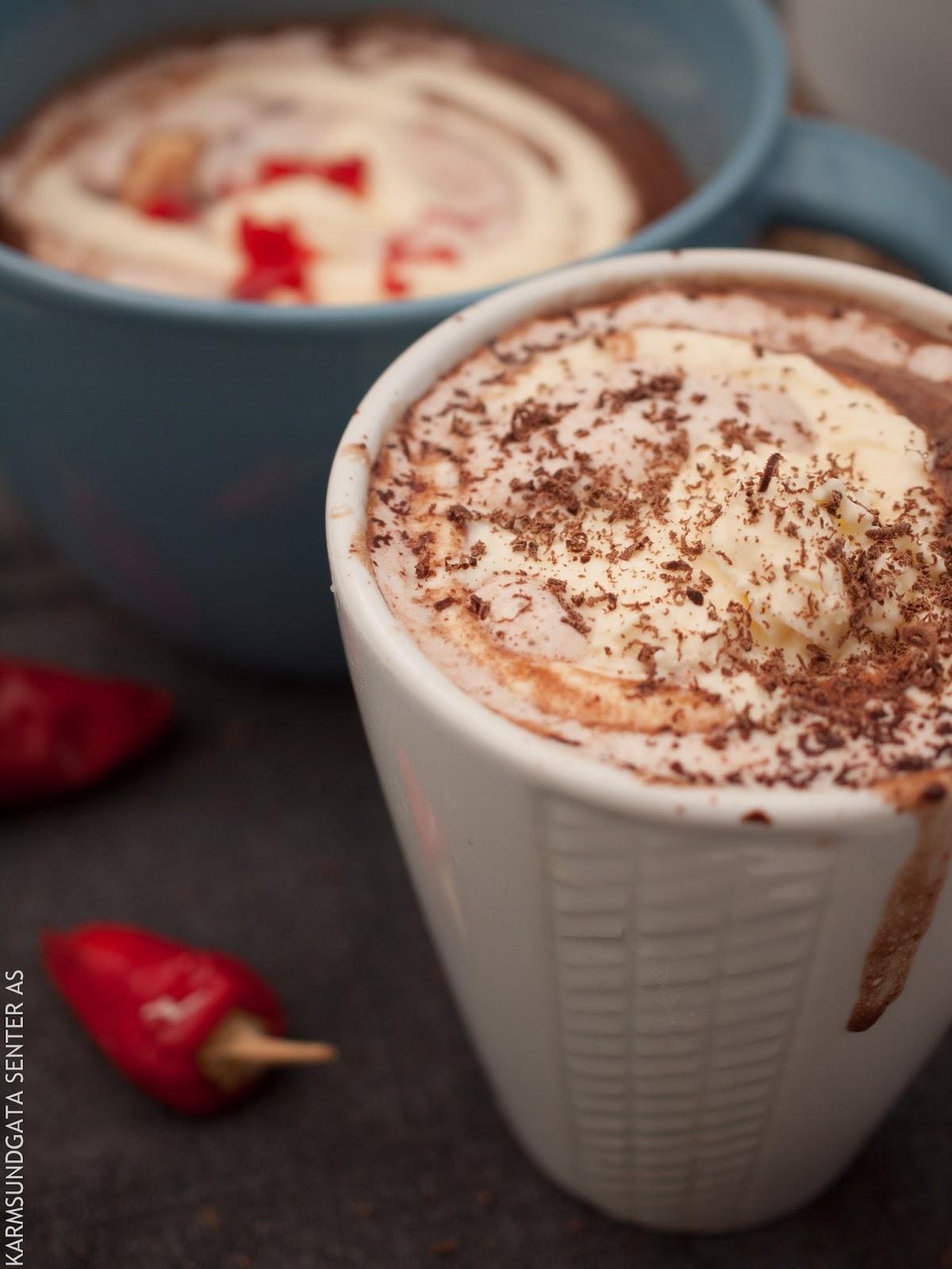 Varm sjokolade oppskrift