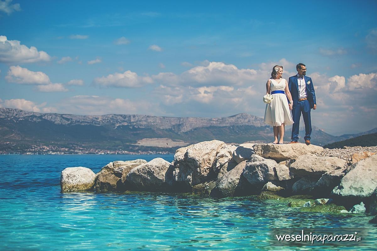 Malowniczy ślub na Chorwacji
