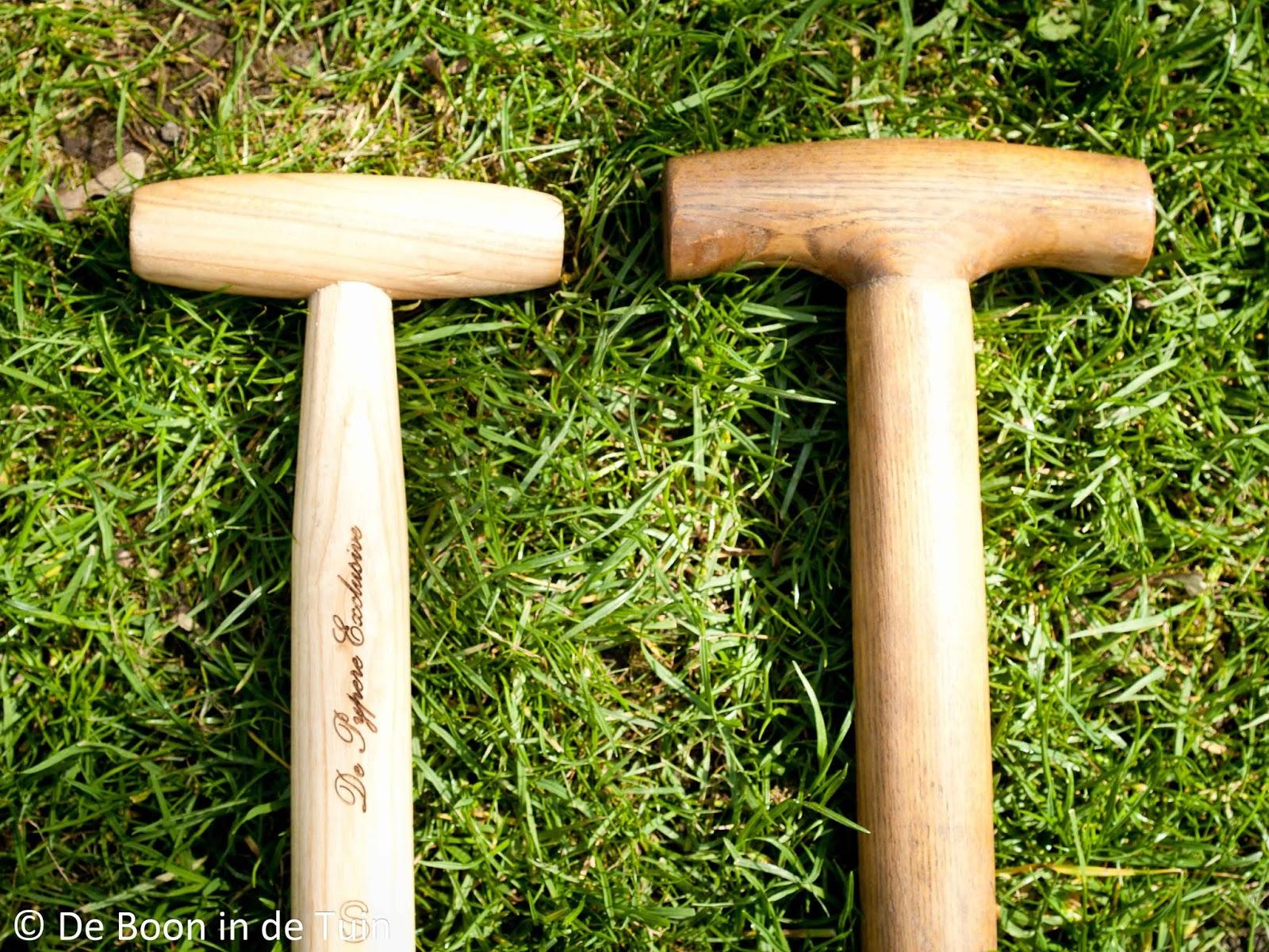 onderhoud houten stelen tuingereedschap lijnzaadolie