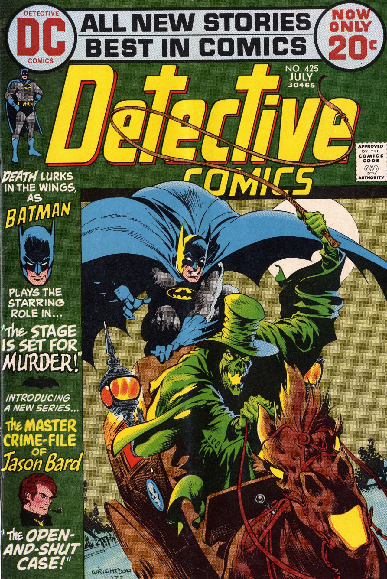 Detective Comics (1937) 425 Page 0